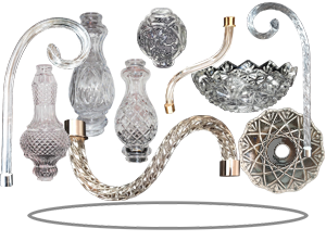 crystal lighting parts chandelier crystal parts retail and