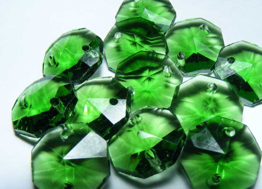 Emerald 14mm Octagon