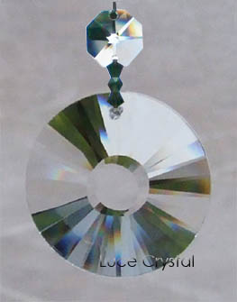 Clear Crystal Sun Disk
