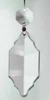 "Pendalogue Cut Crystal 2.5"" with Octagon"