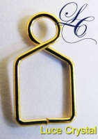 Gold Plated Hanger 60 Pcs