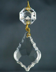 French Cut Glass Crystal 38mm-1-M 150