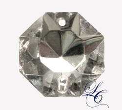 Clear 18mm Octagon Italian Style