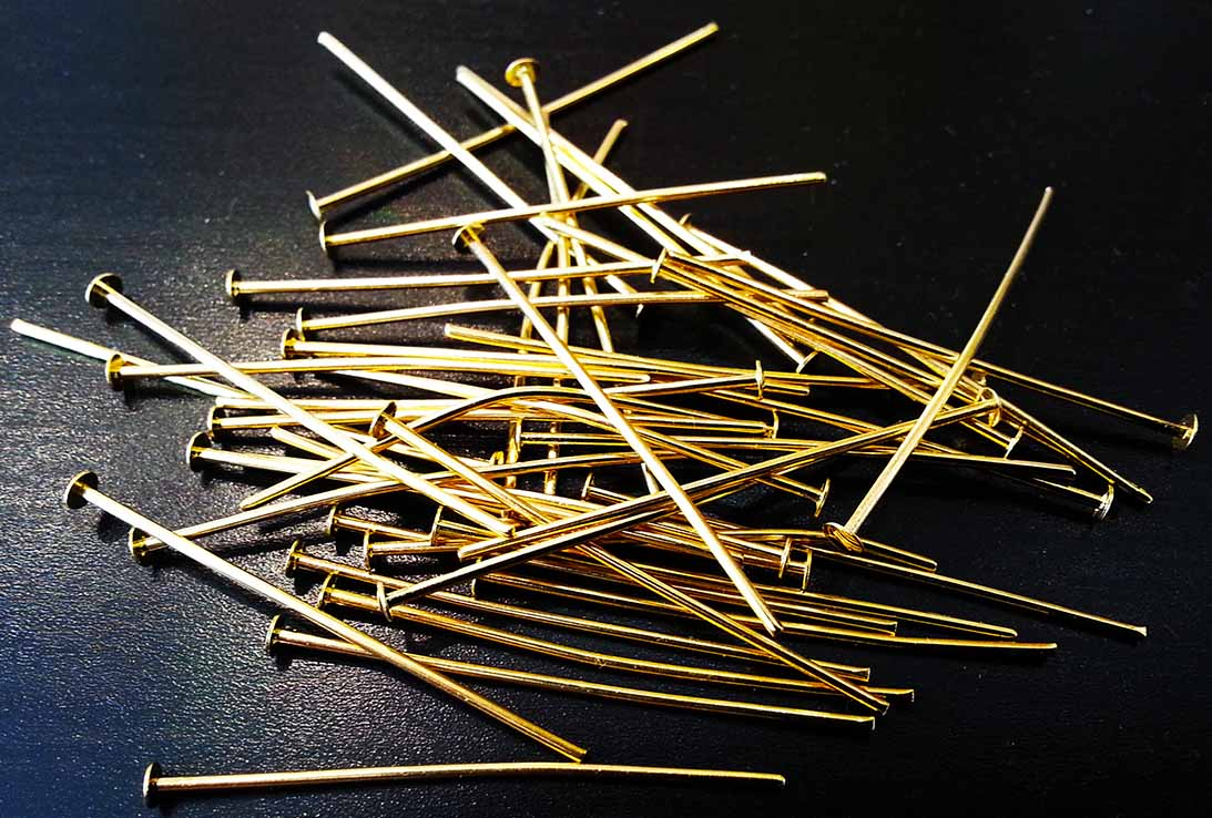 80 Alfiler Gold Plated Pin