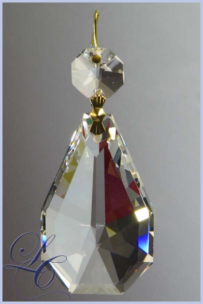 Crystal Almond Jewel 76 Mm